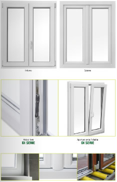 Infissi in pvc e verande in pvc doors di marco iannucci for Infissi in pvc costi